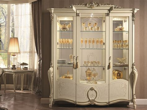 Classic Cupboard - tiziano display cabinet by arredoclassic