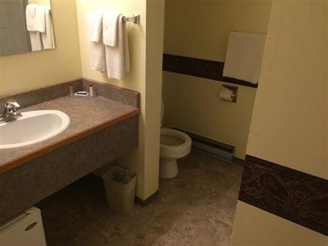 Washroom Countertops by Washroom With Mini Fridge Sink Counter Picture Of