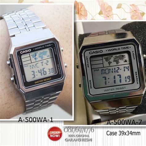 Jam Tangan Casio Original Wanita A 500wa 1 katalog jam tangan digital casio pria wanita anak
