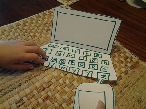How To Make A Paper Laptop - adventures