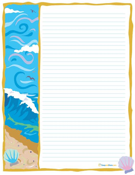 7 best images of free stationery printable stationary