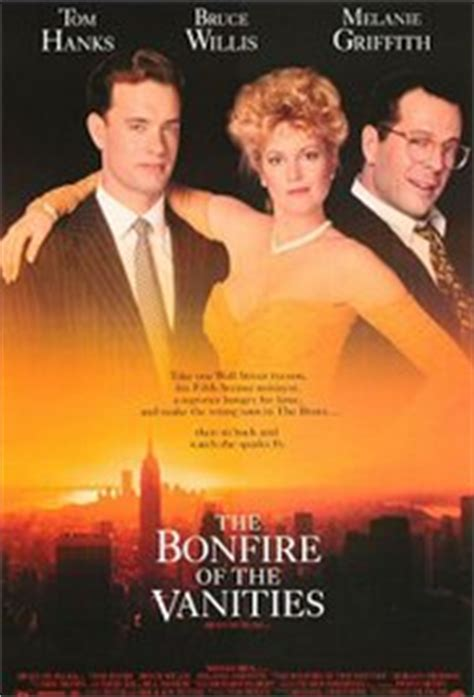 Bonfire Of The Vanities Book Review by The Bonfire Of The Vanities 1990 Imdb