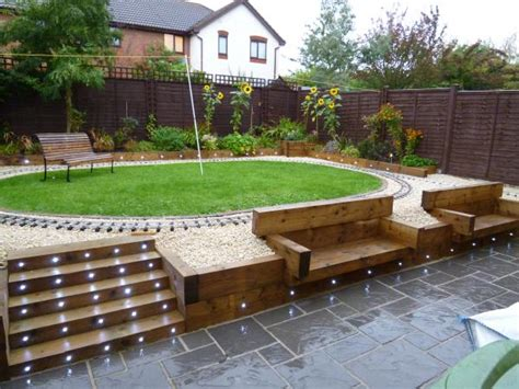 Patio Lights In Slabs Concrete Garden Patio Paving Slabs 4 Size Design 38mm