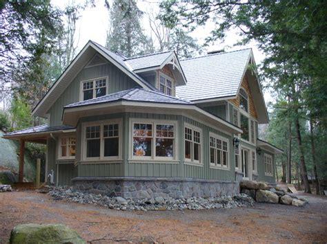 Traditional Craftsman House Plans muskoka cottage