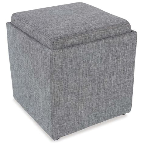 ottomans with storage and trays gray storage ottoman with tray 4a1 06g jgw furniture d