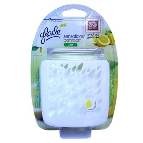 glade bathroom glade sensation bathroom freshener lemon 8g