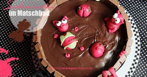 matsch kuchen rezept schweinchen im schokoladen matsch bad kuchen