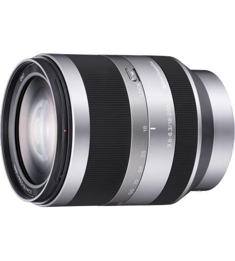 Lensa Sony Sel18200 sony 18 200mm f 3 5 6 3 oss zoom e mount lens