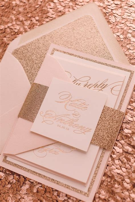 gold and wedding invitations uk real wedding and anthony fancy gold foil and