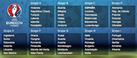Calendario 6 Naciones B 2016 Calendario Eliminatorias Eurocopa 2016 Liga Espa 209 Ola