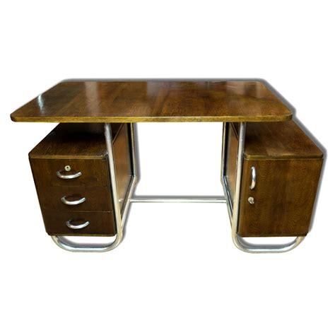 scrivania faggio scrivania bauhaus in faggio repubblica ceca anni 30 in