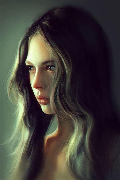 168 best images about cg portraits on pinterest models quot girl portrait quot liangxing figurative art beautiful