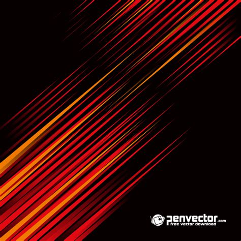 black abstract wallpaper vector black red line abstract background free vector