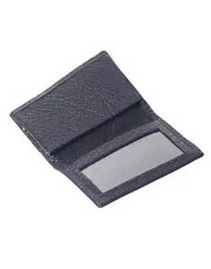 s business card holder barno plastics genuine leather business card holder open