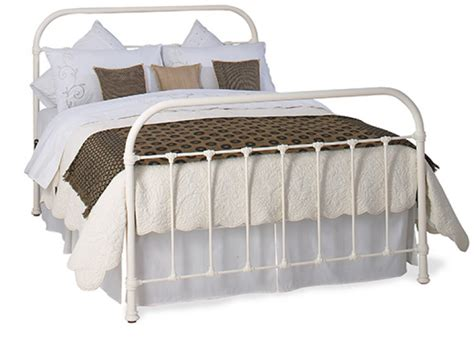 metal headboards double bed obc timolin 4ft 6 double glossy ivory metal headboard by