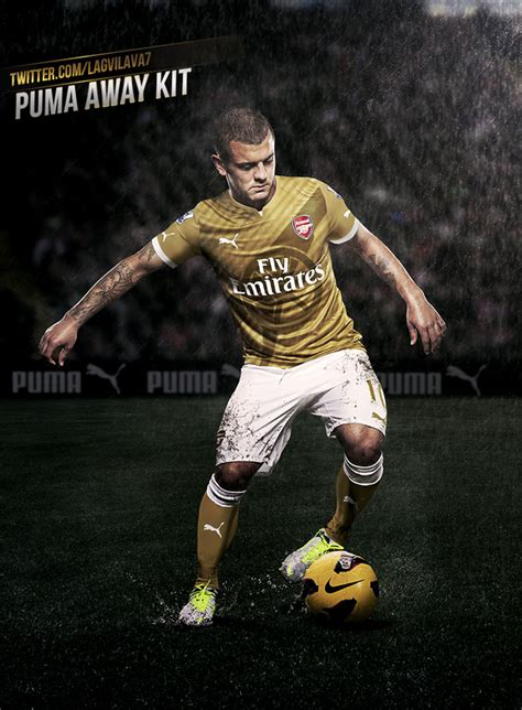 arsenal new kit arsenal new puma kit revealed fan posts twitter pics of