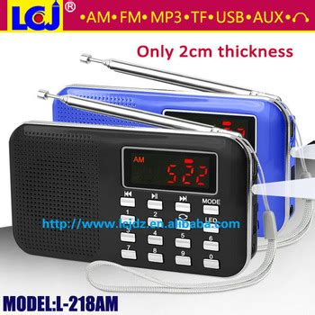 Speaker Advance Tp 200 Speaker Portable Radio Slo Limited l 218am portable mini am fm scan radio with mp3 player and