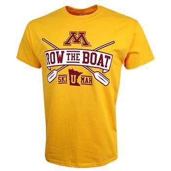 minnesota row the boat shirt official minnesota golden gopher tickets merchandise