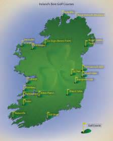 golf courses map golf courses in ireland map