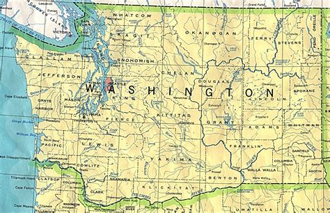Finder Washington Washington State Map Travel Information Hotels Real Estate