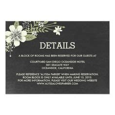 wedding website enclosure card template 1000 images about wedding reception cards on
