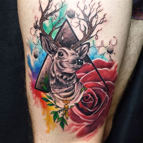 watercolor animal tattoo 130 best watercolor designs meanings unique