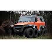 Avtoros Shaman 8x8 ATV Is An Off Road Beast That Can