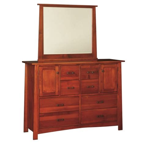 large bedroom dresser craftsmen large dresser mirror amish made dresser