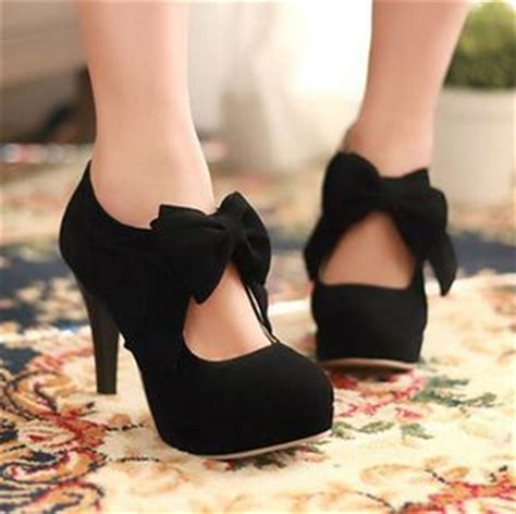Sale Co Henna Wedges Ori japanese sweet bowknot heels 183 asian kawaii clothing