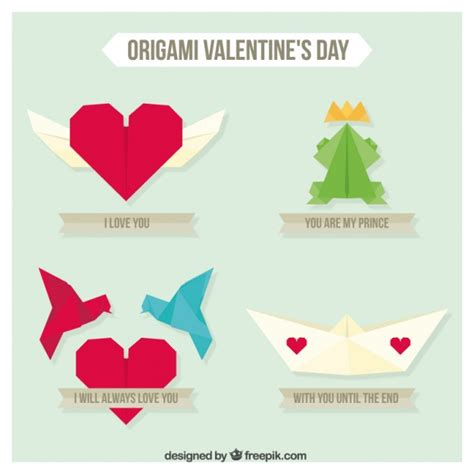Origami Day - origami day pack vector free