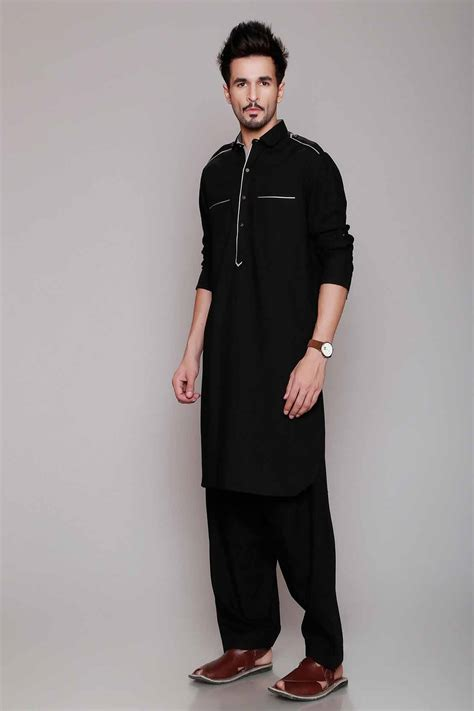 kurta pattern image black kurta patterns for men www pixshark com images