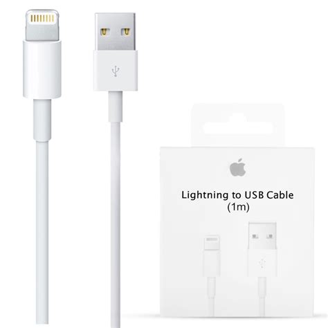 apple iphone lightning usb cable