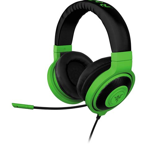 Razer Headset Kraken Neon Series razer kraken pro neon analog gaming headset rz04 00870900 r3m1