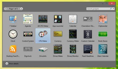 Desk Top Gadgets by How To Get Windows 7 Desktop Gadgets On Windows 8 1 Hongkiat