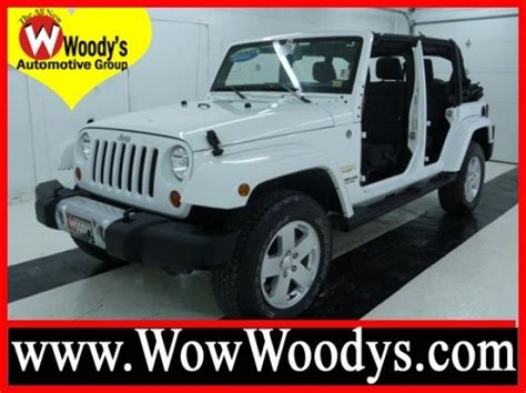 2012 Jeep Wrangler For Sale Big Bright White Kansas City Area 2012 Jeep Wrangler
