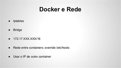 docker flocker tutorial docker na vida real