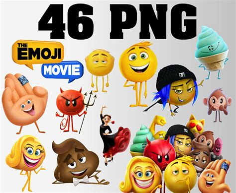 emoji film descriptions the emoji movie clipart 46 png transparent background