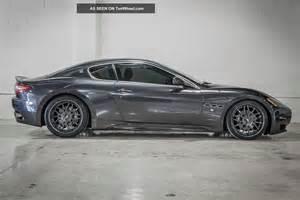 Maserati Carbon Fiber One Of A 2008 Maserati Gran Turismo Carbon Fiber Mc