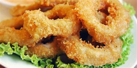 resep membuat onion ring crispy resep cara membuat cumi goreng cryspi gurih resep