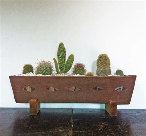 cactus planter white triangle cactus planter heidiandersonstudio