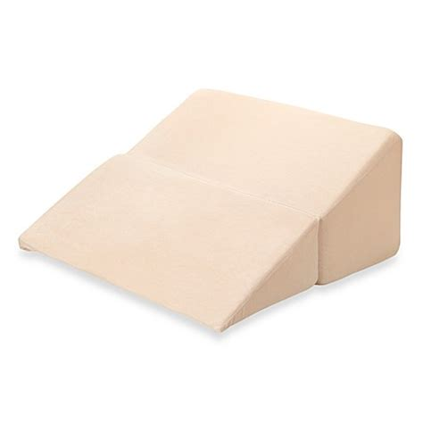 bed bath wedge pillow buy pillow wedges from bed bath beyond