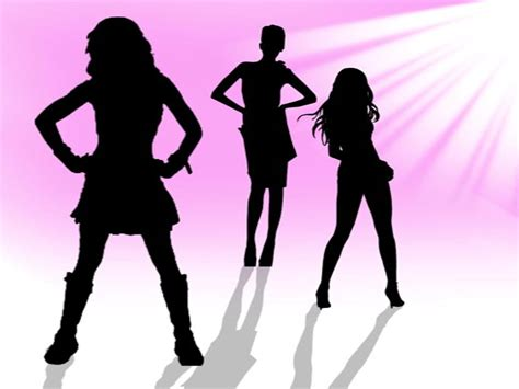 powerpoint templates free download dance girl dance theme backgrounds presnetation ppt