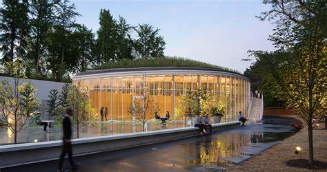 Botanical Garden Center Botanic Garden Visitor Center Architect