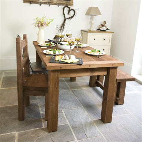 chunky wood dining table chunky solid wood dining table and chair set by the