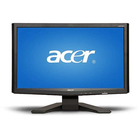 Monitor Lcd Acer 20 In acer x203h 20 quot wide lcd monitor walmart