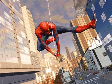 spiderman web swing game web slinging updated for amazing spider man 2 game