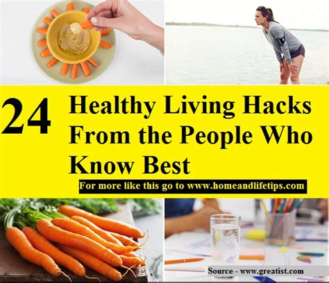 24 healthy living hacks from the who best