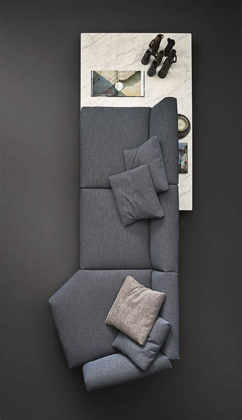 living room sofa cumbed avio sofa system by pierro lissoni for knoll international furniture design