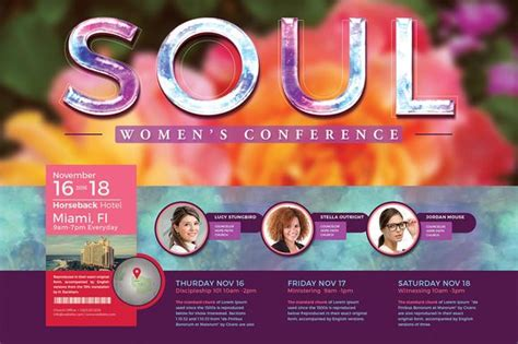 themes in women s literature women s conference flyer template 2 creative flyer