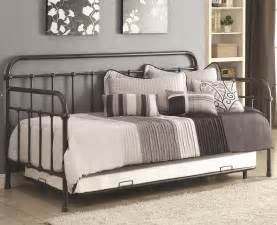 Havertys Bedroom Sets dark bronze metal daybed w trundle bedroom furniture